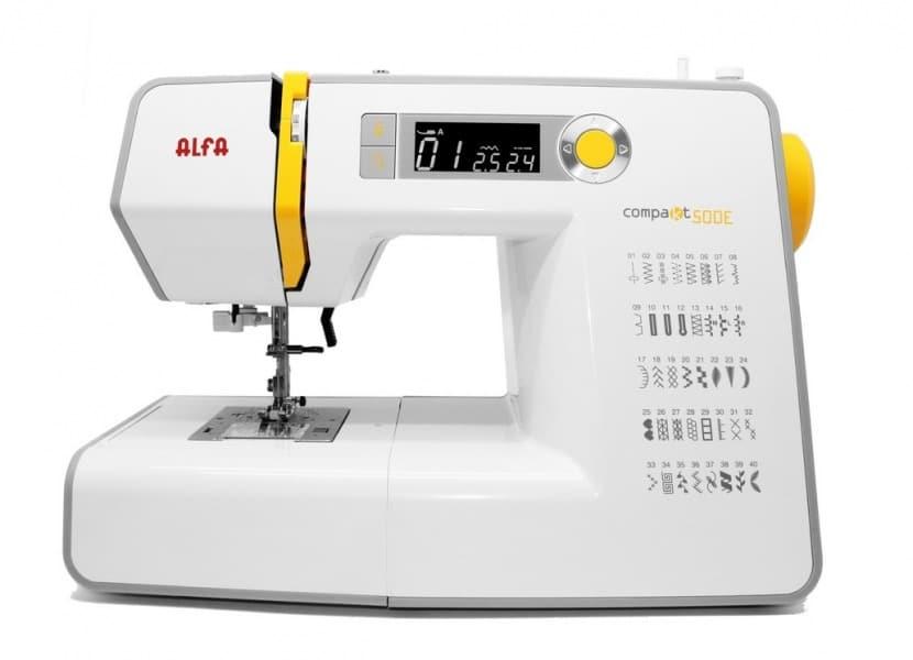 Máquina de coser Alfa Compakt 500E Plus