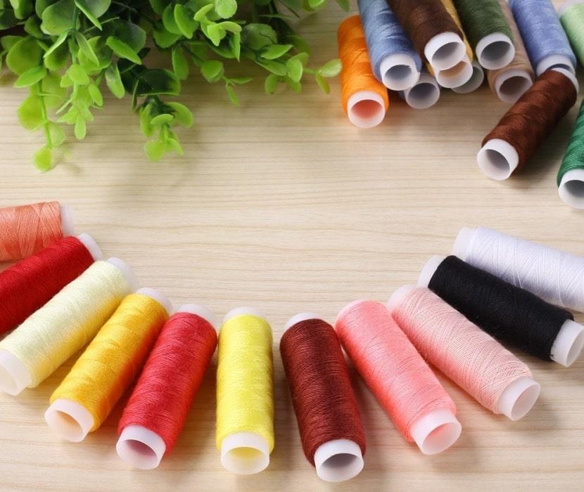 Hilos de poliester para máquinas de coser