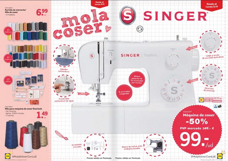 Máquina de coser Lidl, ¿merece la pena?