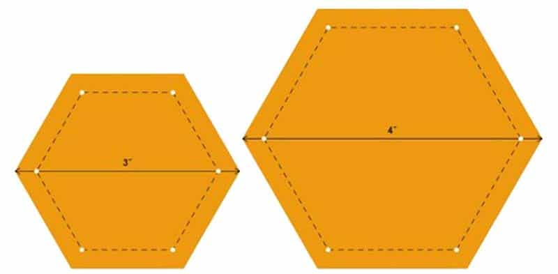 Modello di trapunta patchwork