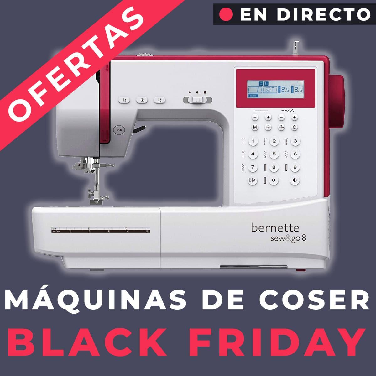 ofertas maquinas de coser black friday
